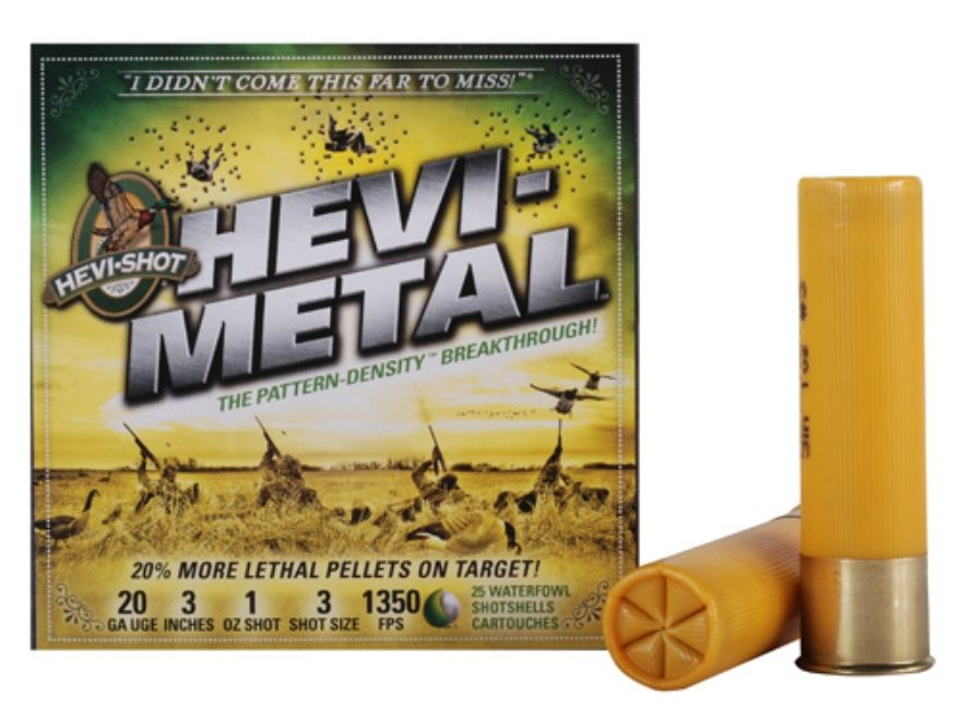 Hevi-Metal 20ga 3″ 1oz 1350fps Case – Dunns Sporting Goods