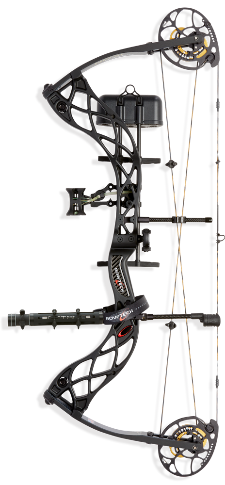 BowTech Carbon Icon Compound Bow Package 335 FPS Axle-To-Axle 31