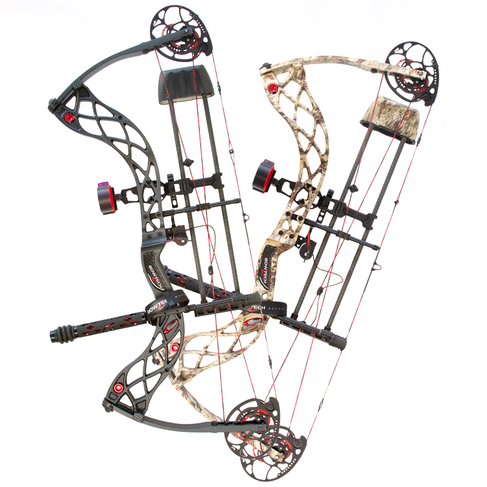 BowTech Carbon Icon DLX Compound Bow Package 335 FPS Axle-To-Axle 31