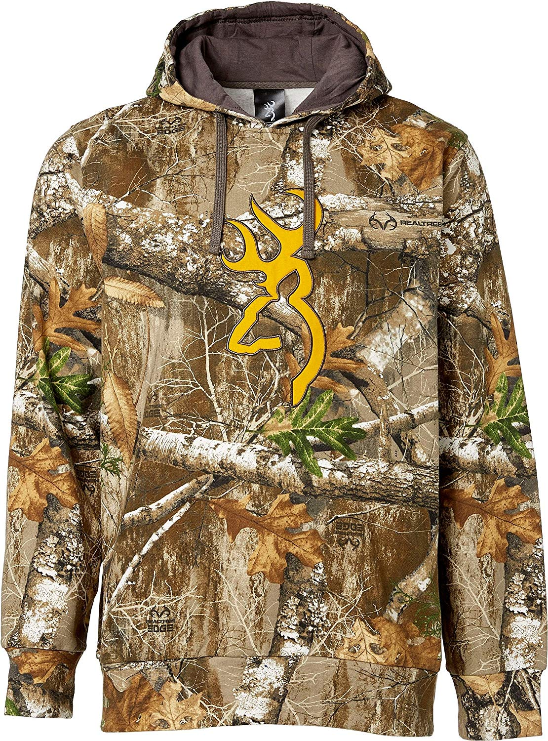 99025879980b2 Browning Men's Realtree Edge Buckmark Hoodie #301798600 – Dunns ...