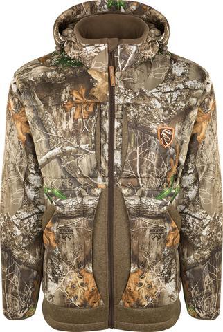 Deerhunter Norden Insulated Fleece Jacket Brown Hunting FREE DH £12 SOCKS